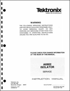 what are service manuals